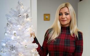 Kako bo svoj dom letos okrasila priljubljena pevka Brigita Šuler?