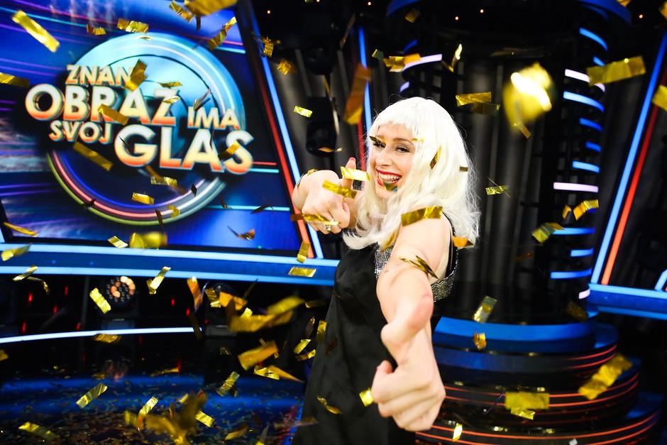 Finalna oddaja, zmagovalka šova Znan obraz ima svoj glas 2019 (foto: Miro Majcen / POP TV)
