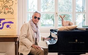 Andrea Bocelli: »Tako kot šport tudi opera potrebuje šampione«