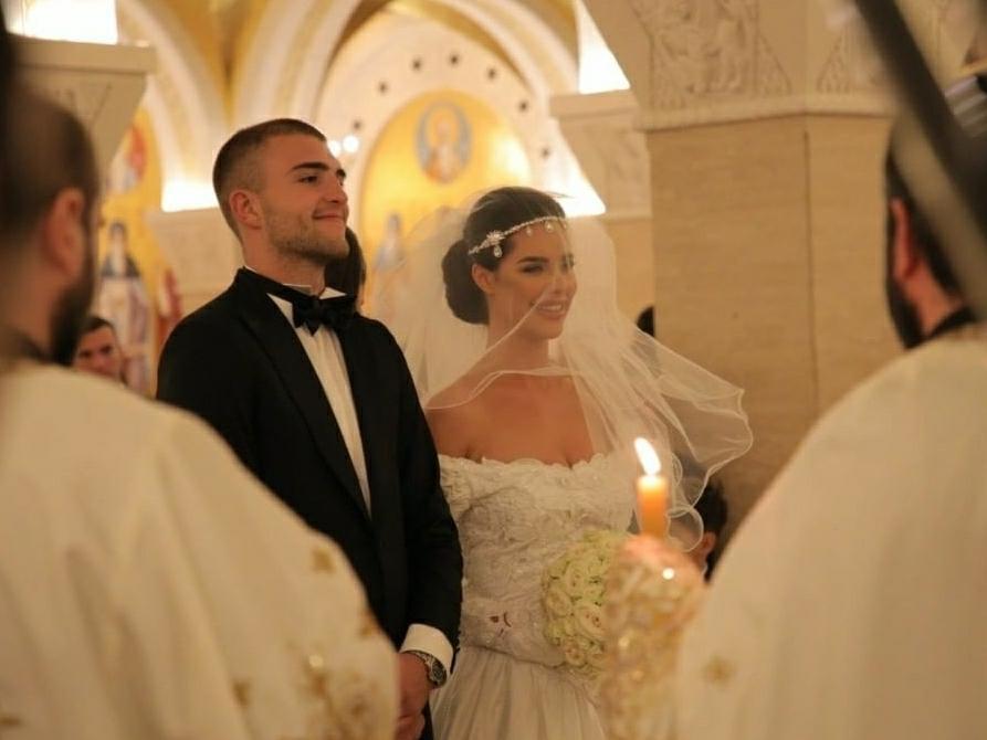 Poročil se je Cecin sin oziroma to je bila srbska poroka desetletja (foto: Foto: Instagram)