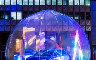 Prihodnost v snežnih kroglah sredi Ljubljane