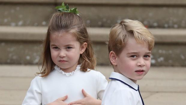 Vas zanima kaj bosta letos za božič dobila princ George in princesa Charlotte? (foto: Profimedia)