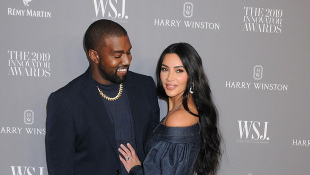 November 6, 2019 - New York, New York - Kanye West, Kim Kardashian West. WSJ. Magazine 2019 Innovator Awards Sponsored By Harry Winston And Rémy Martin held at MOMA., Image: 481902352, License: Rights-managed, Restrictions:, Model Release: no, Credit line: AdMedia/ADMedia/Profimedia (foto: Foto: Admedia/Admedia/Profimedia Admedia/Admedia/Profimedia)