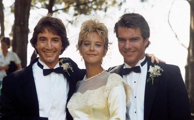 Martin Short, Meg Ryan in Dennis Quaid, s katerim sta bila poročena od 1991 do 2001. Skupaj so snemali film Innerspace.