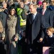 Princ George in princesa Charlotte sta navdušila zbrano množico!
