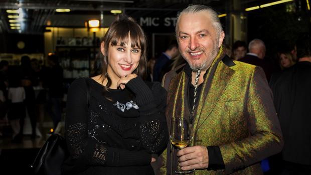 Matea Benedetti in Milan Gačanovič Gacho (foto: Nina Žnideršič)