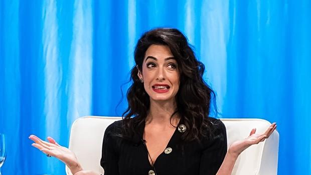 Amal Clooney naj bi bila obsedena z Meghan Markle in dela vse, da bi ostala njena prijateljica (foto: Profimedia)