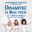 Tri DINAMITKE, Simona Vodopivec, Alenka Godec in Damjana Golavšek, na dobrodelnem koncertu ustanove Mali vitez