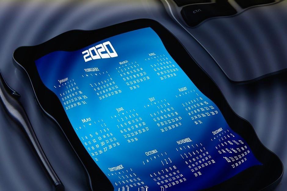 V letu 2020 bo kar pet dela prostih dni manj kot v letu 2019 (foto: Pixabay)