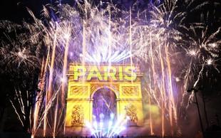 Po svetu bučno proslavili vstop v novo leto