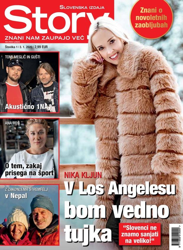 Slovenci ne znamo sanjati na veliko, je za Story povedala Nika Kljun (foto: Story)