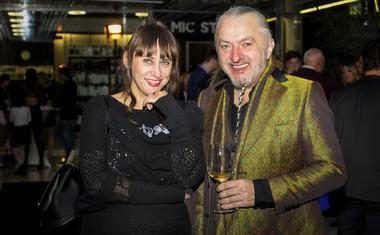 Vrhunska modna kreatorka in kostumografinja Matea Benedetti in Milan Gačanovič, modni guru.
