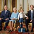 Poglejte si nov portret britanske kraljice s prestolonasledniki ob začetku novega desetletja!