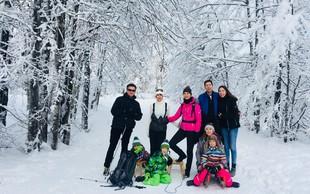 Najboljša terapija po prazničnem decembru so sneg in zimske radosti, pravi Jerca Legan Cvikl
