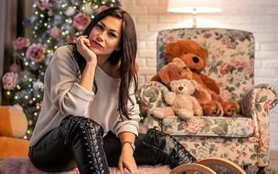 Modna oblikovalka Teja Jeglič ponesreči prespala novo leto