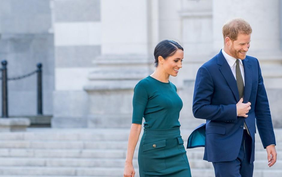 Princ Harry in Meghan Markle sta nazaj v Londonu, kjer sta razkrila vse o potovanju v Kanado (foto: Profimedia)