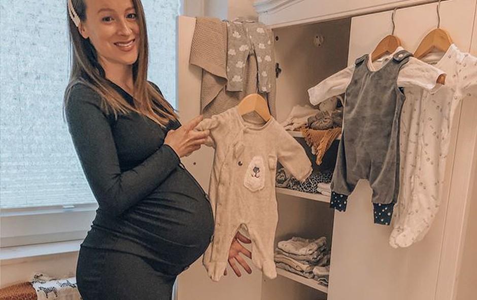 Anja Baš po rojstvu sina: Ne znam si več predstavljati, kako je bilo prej (foto: Instagram profil Anja Baš)