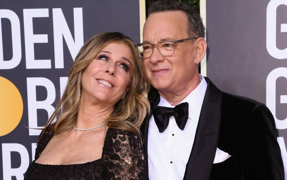 Ljubezen med Tomom Hanksom in njegovo ženo Rito je brezčasna (foto: Profimedia)