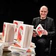 Mitja Čander predstavil nov roman, prvenec Slepec