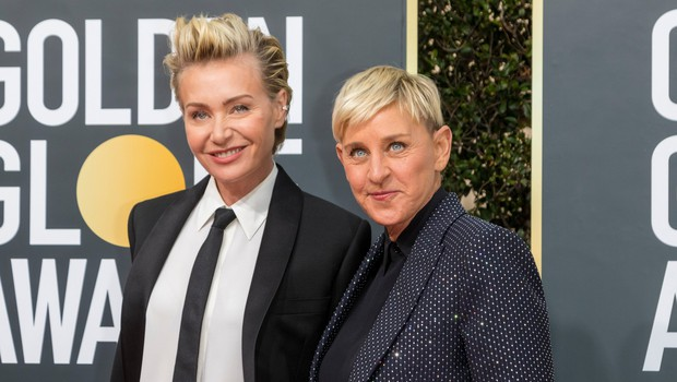 Ljubezen med Ellen DeGeneres in Portio de Rossi traja že 20 let! (foto: Profimedia)