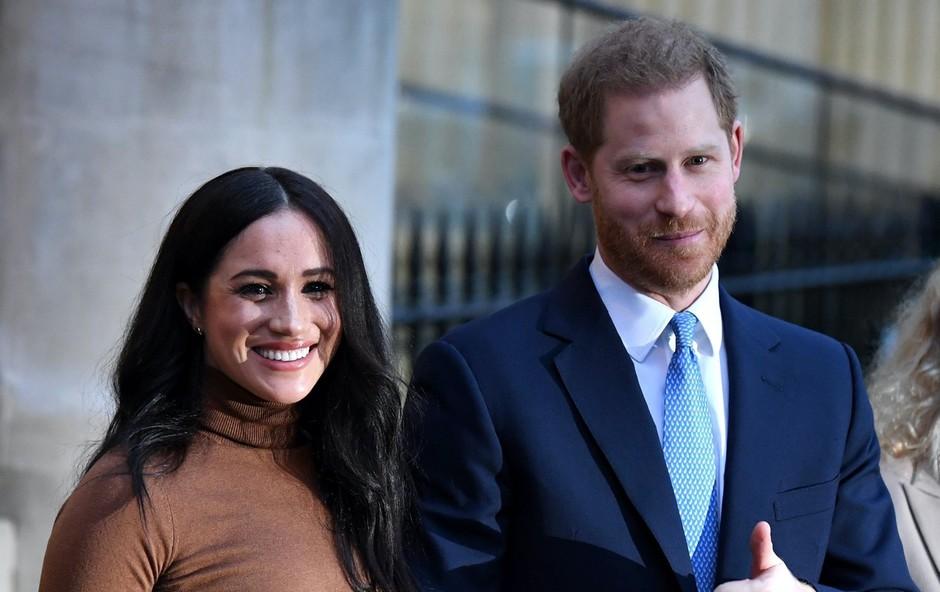 Princ Harry in Meghan Markle bi po koncu kraljevega statusa lahko brez zadržkov dajala intervjuje, le kaj vse utegneta povedati (foto: Profimedia)