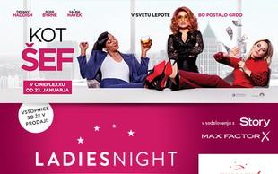 V Cineplexx ponovno prihaja LADIES NIGHT - tokrat s filmom KOT ŠEF