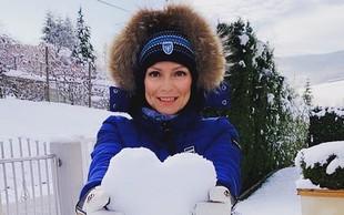 Natalija Verboten pokazala, kakšen in kako hiter je njen zimski ferari