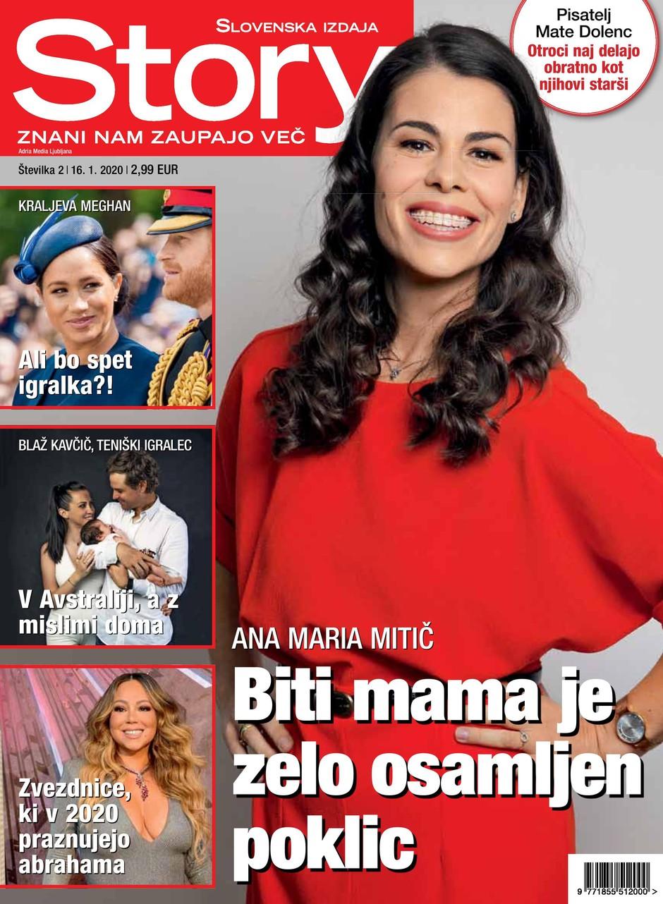 Ana Maria Mitič za Story: Materinstvo je zelo osamljen poklic (foto: Story)