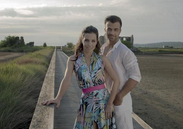 Gašper Rifelj in Maja Geršak bosta kaj kmalu zibala (foto: Anita Rifelj)
