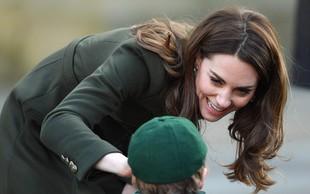 Kate Middleton razkrila, da si princ William ne želi še enega otroka