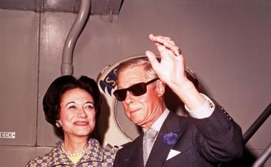 Wallis in Edward leta 1960. Vseskozi sta bila zelo skladen in zaljubljen par.