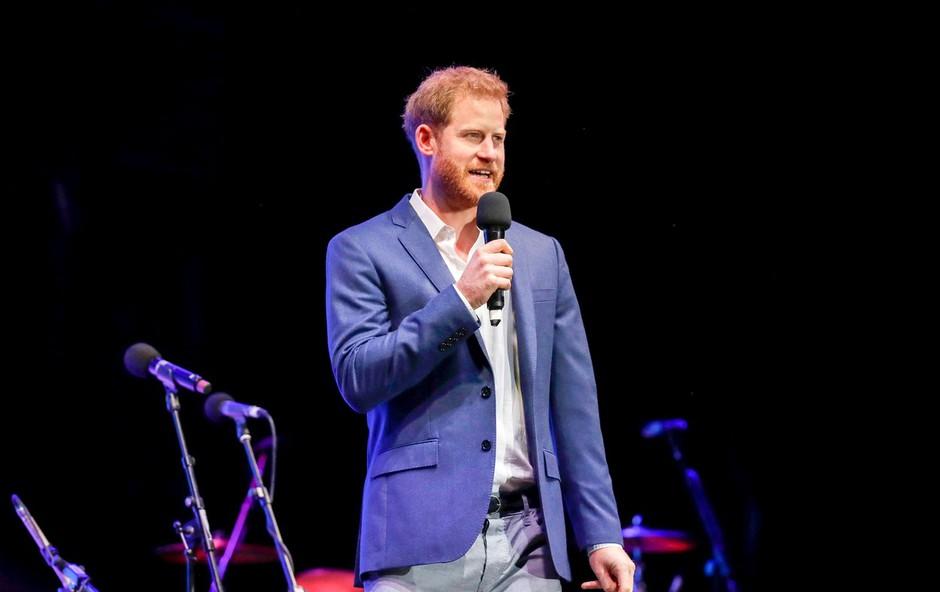 Princ Harry je imel ganljiv govor (foto: Profimedia)