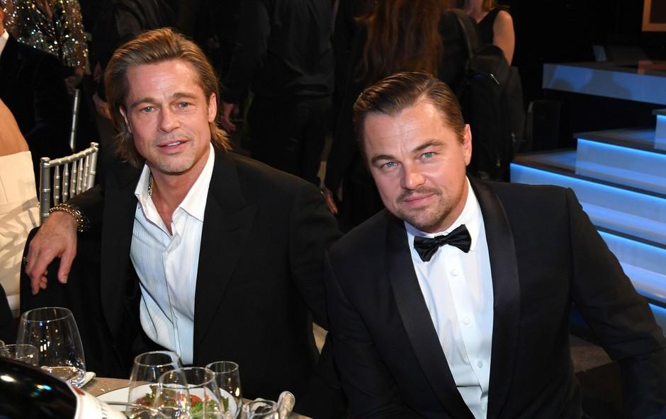 Brad Pitt razkril, kateri vzdevek mu je nadel Leonardo DiCaprio (foto: Profimedia)