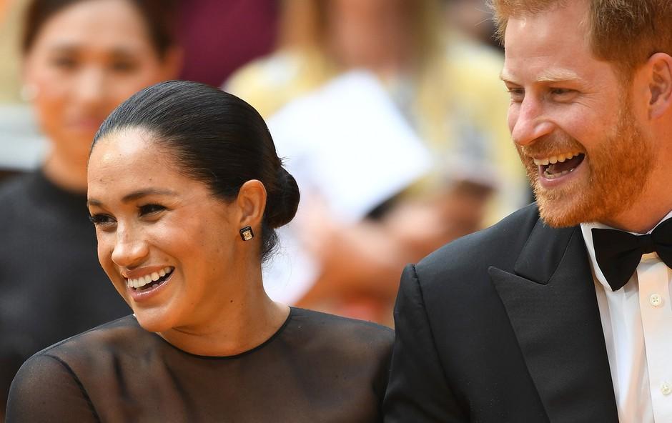 Meghan Markle in princ Harry tudi po odhodu iz kraljeve družine deležna kraljeve zaščite in varnosti (foto: Profimedia)