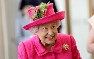 Na dan prišlo, kako kraljico Elizabeto ljubkovalno kliče princ George