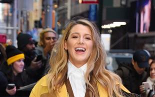 Igralka Blake Lively se je na ulicah New Yorka pojavila v modni kombinaciji, ki je bila všeč le redkim