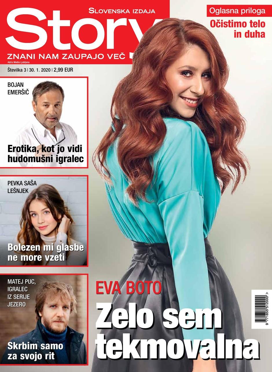 Eva Boto za Story:  Od vseh glasbenikov na svetu sem si najbolj želela imitirati Heleno Blagne (foto: Story)