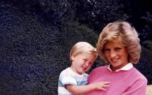Princesa Diana je hitro ugotovila, da ima princ Charles hude težave zaradi pomanjkanja dotikov v otroštvu