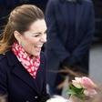Kate Middleton je na zmenek s princem Williamom odšla v čudoviti rdeči obleki, ki je nalašč za bližajoče se valentinovo