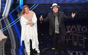 Sanremo 2020 navdušuje; stoječe ovacije za Al Bana in Romino Power