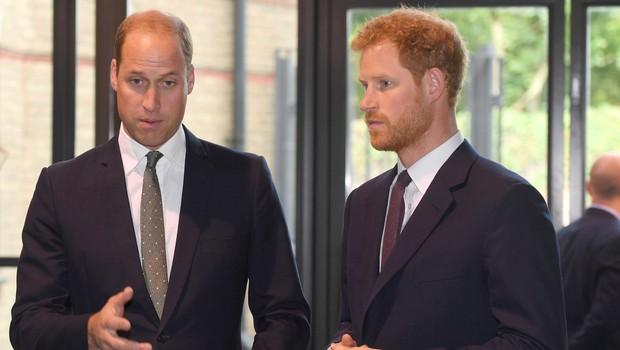 Princ Harry in princ William sta se poslovila vse prej kot mirno in bratsko (foto: Profimedia)