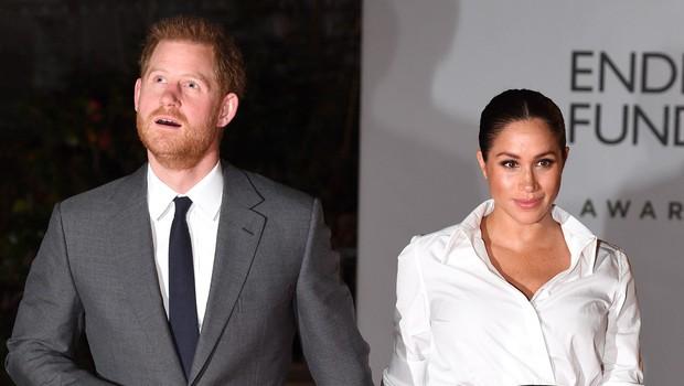 Princa Harryja in Meghan Markle vabili na podelitev oskarjev, a sta vabilo brez oklevanja zavrnila (foto: Profimedia)