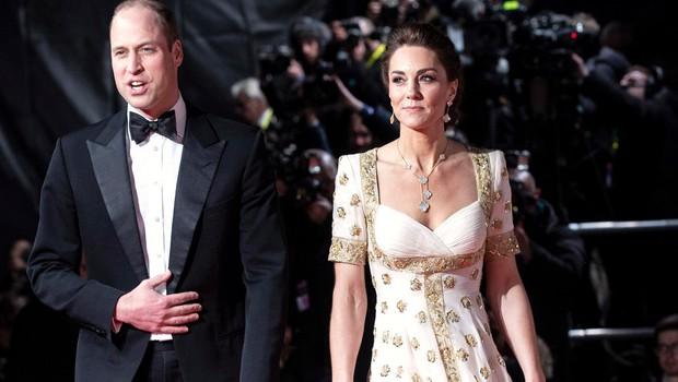 Poglejte si zabavno reakcijo princa Williama na podelitvi nagrad BAFTA 2020 (foto: Profimedia)