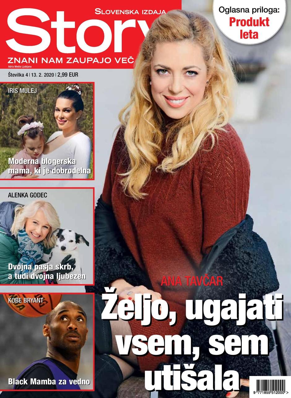 TV-voditeljica Ana Tavčar za Story: Ljudje si dovolijo marsikaj (foto: Story)