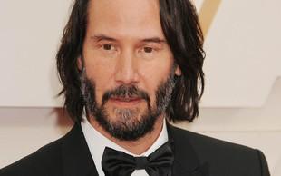 Keanu Reeves je poskrbel za zmedo na letošnjih oskarjih