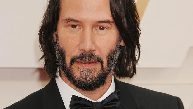 Keanu Reeves je poskrbel za zmedo na letošnjih oskarjih (foto: Profimedia)