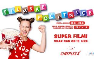 Filmske počitnice v CINEPLEXXU