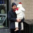 Kot v starih časih: Bradley Cooper in Irina Shayk s hčerkico na skupnem kosilu