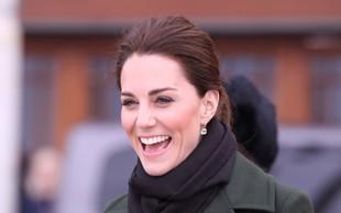 Kate Middleton priznala, da je najbolj srečna, ko so njeni otroci v naravi in umazani