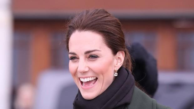 Kate Middleton priznala, da je najbolj srečna, ko so njeni otroci v naravi in umazani (foto: Profimedia)